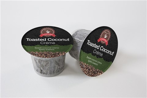 Single Serve Cups: Toasted Coconut Crème