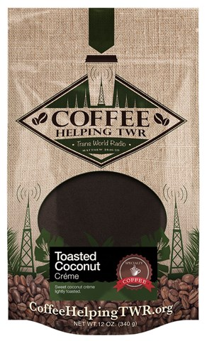 12oz. Bag: Toasted Coconut Crème